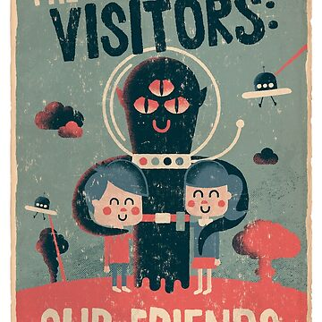 The alien visitors by alexlaunay