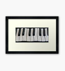 Wonkeyboard abstract Framed Print