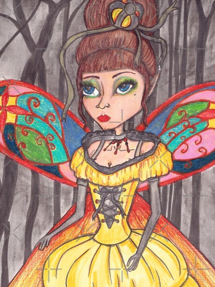 Midnight fairy ball by JenStedmansArt