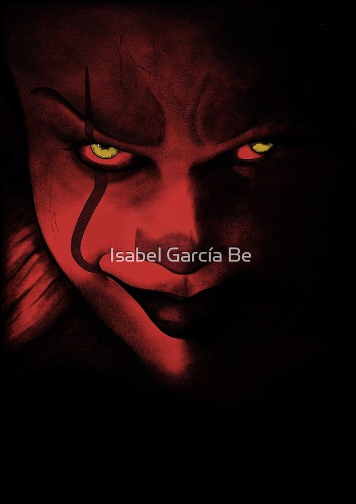 Diabolic clown by Isabel García Be