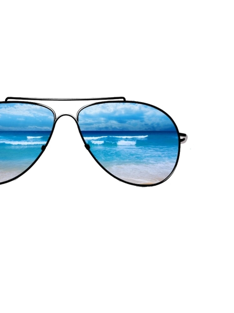 Beach Waves Glasses by dkozelian