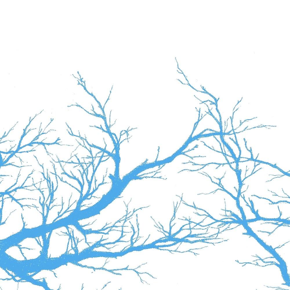 blue branches by Miranda Pastor