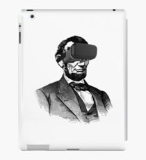 Abraham Lincoln birthday present virtual reality goggles iPad Case/Skin