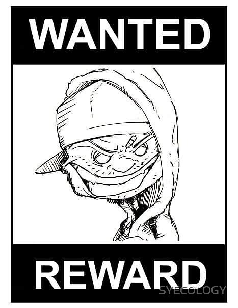 WANTED POSTER by SYECOLOGY