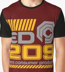 OCP Enforcement Droid ED-209 Graphic T-Shirt