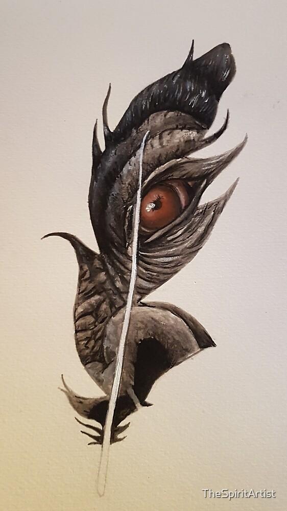 Gorilla Feather  by TheSpiritArtist