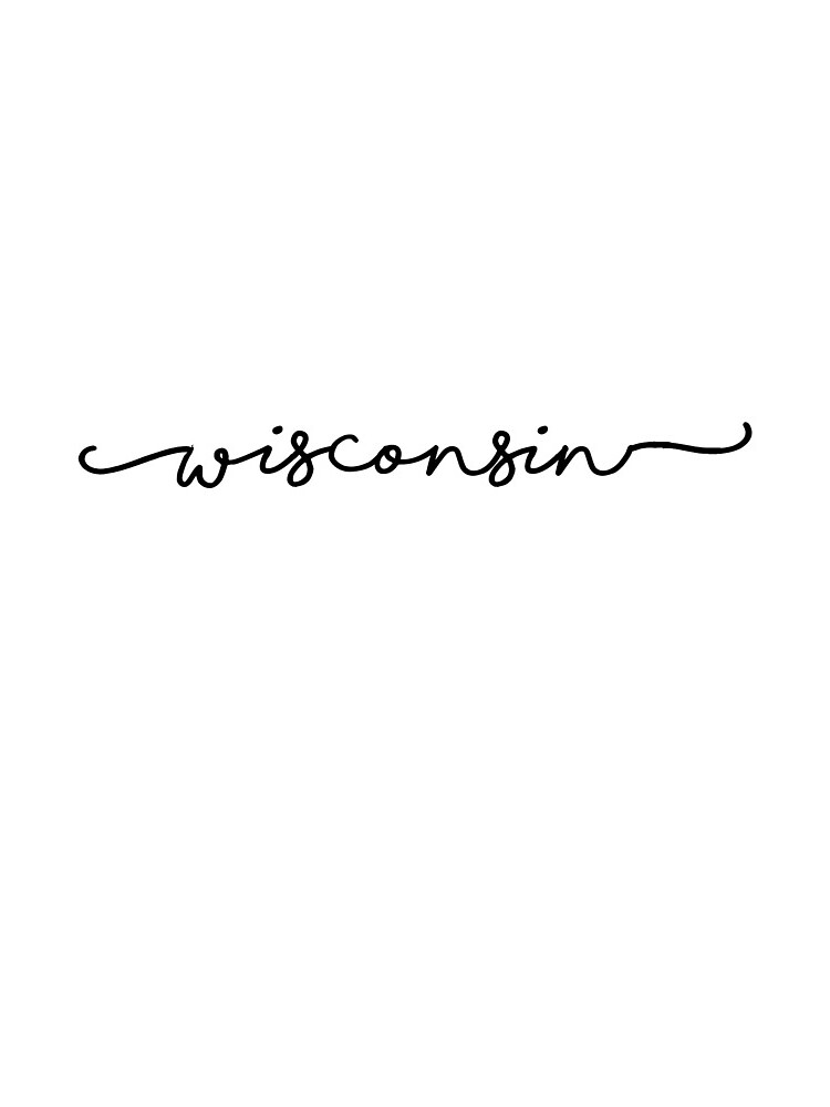 Wisconsin Script by livpaigedesigns