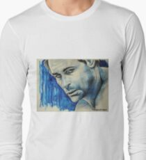 Rob Lowe, featured in Art Universe Long Sleeve T-Shirt