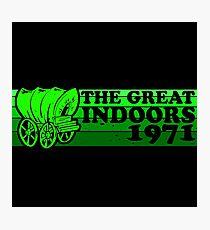 The Great Indoors 1971 Mono Photographic Print