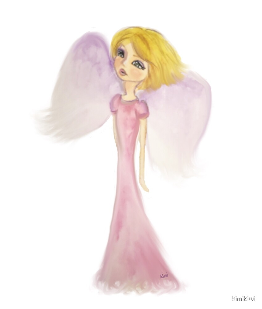 Angel in Pink by kimikiwi