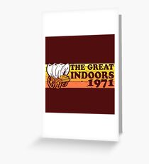 The Great Indoors 1971 Color Greeting Card