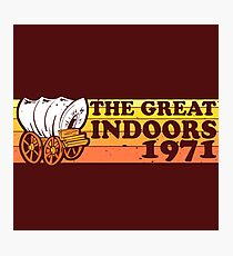 The Great Indoors 1971 Color Photographic Print