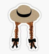 Anne Shirley's Braids Sticker