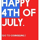 4th of July (GTC) Greeting Card - Flag by Robert Vore