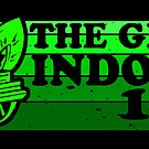The Great Indoors 1971 Mono Sticker by AngryMongo
