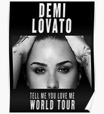 Tell Me You Love Me TOUR - Poster 3 Poster