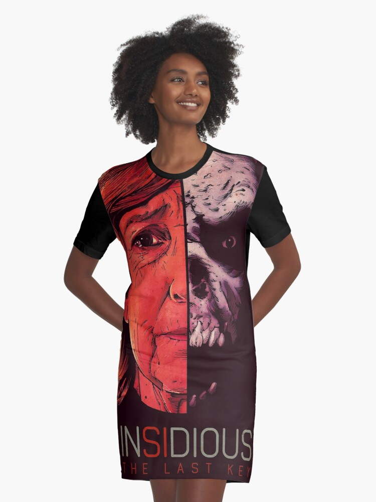 insidious the last ket Graphic T-Shirt Dress Front