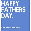 Fathers Day (GTC) Greeting Card by Robert Vore