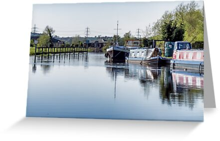 #79 The River Soar next to Normanton On Soar by Petes Photos