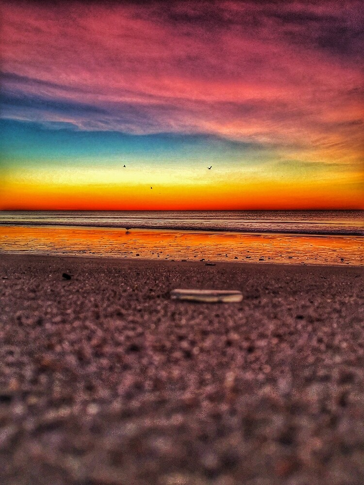 Rainbow Sunrise by Rob King by HeartOnPaper