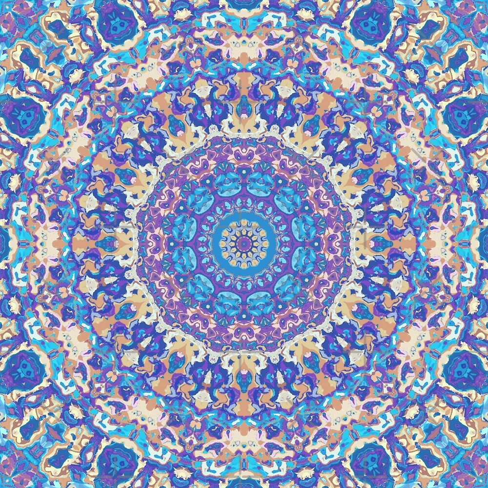 Ornate Mandala by KaleiopeStudio