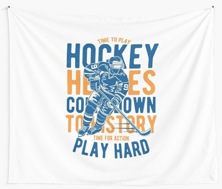 Time To Play - Hockey Heroes Count Down - Top Story - Time For Action - Play Hard by flipper42