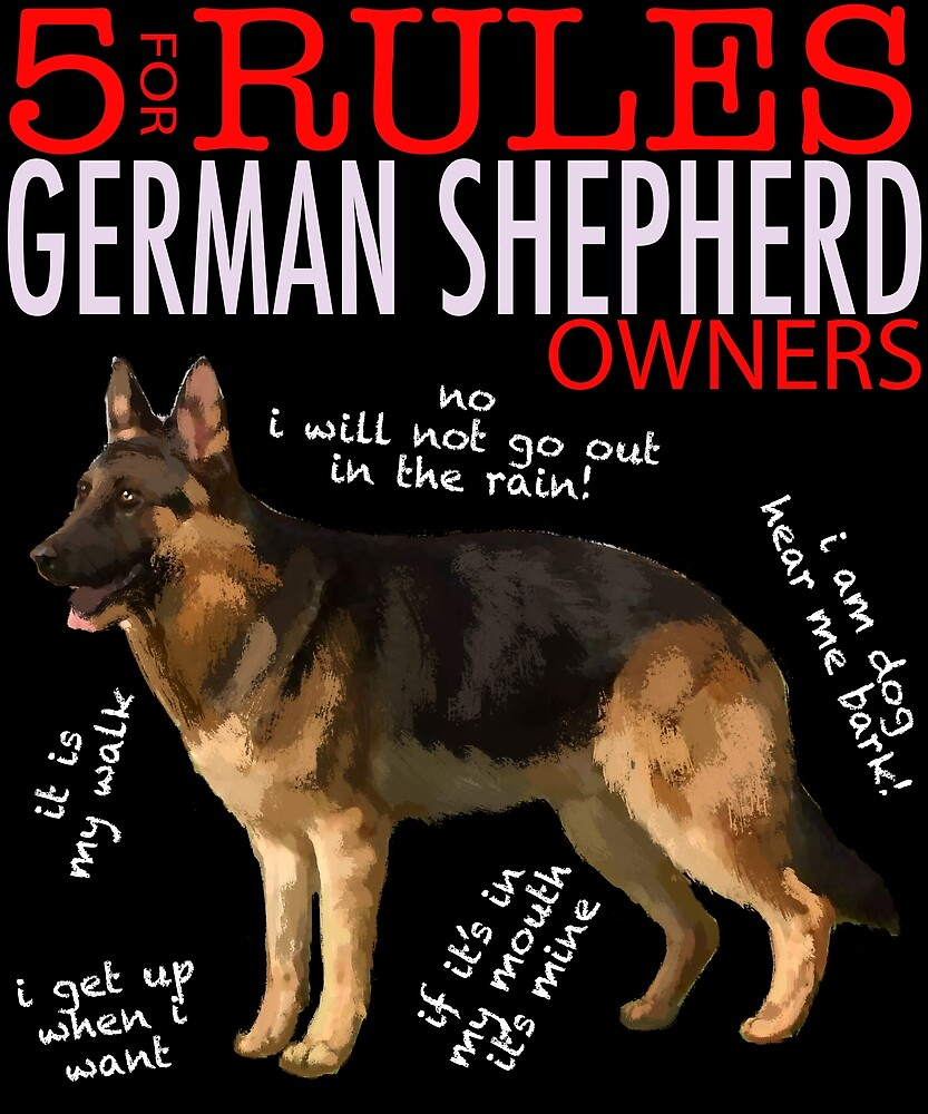 5 Rules for German Shepherd Owners by MichaelRellov