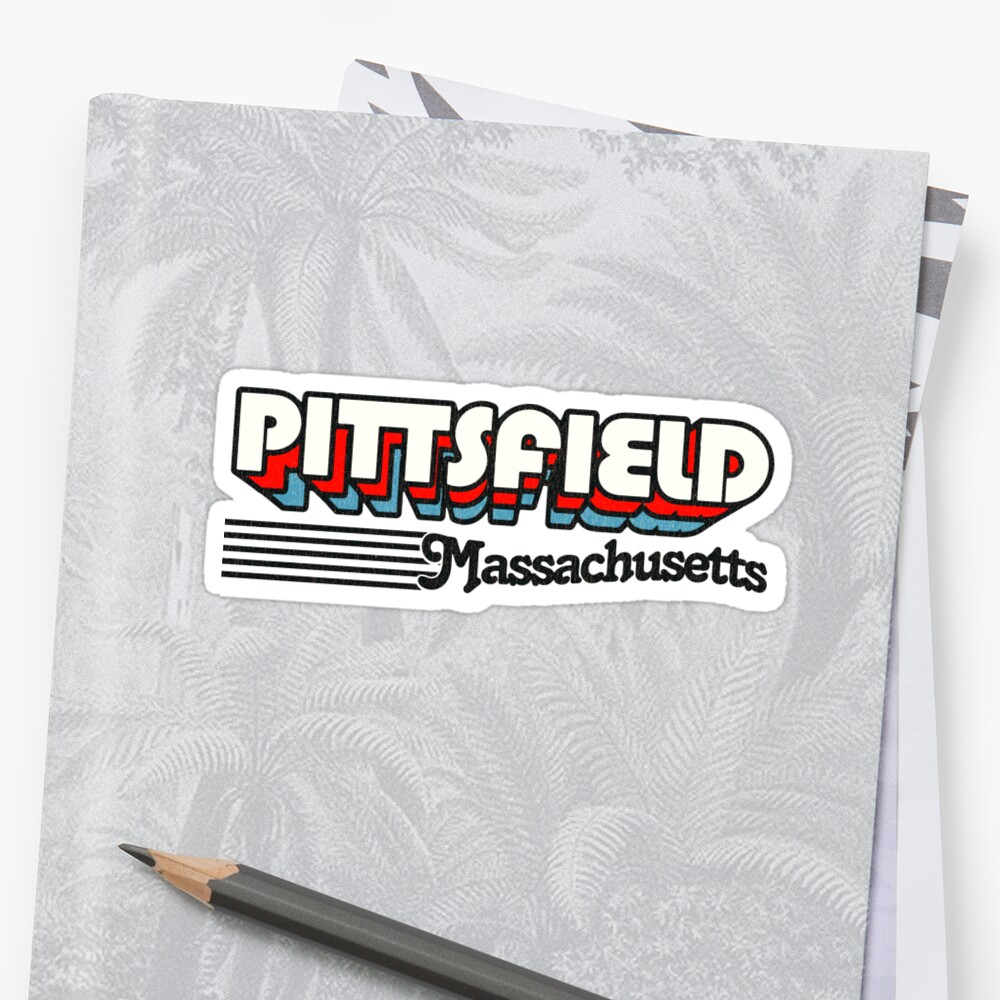 Pittsfield, Massachusetts   Retro Stripes by retroready
