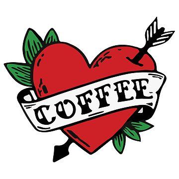 I Heart Coffee! by hellraiserdsgns