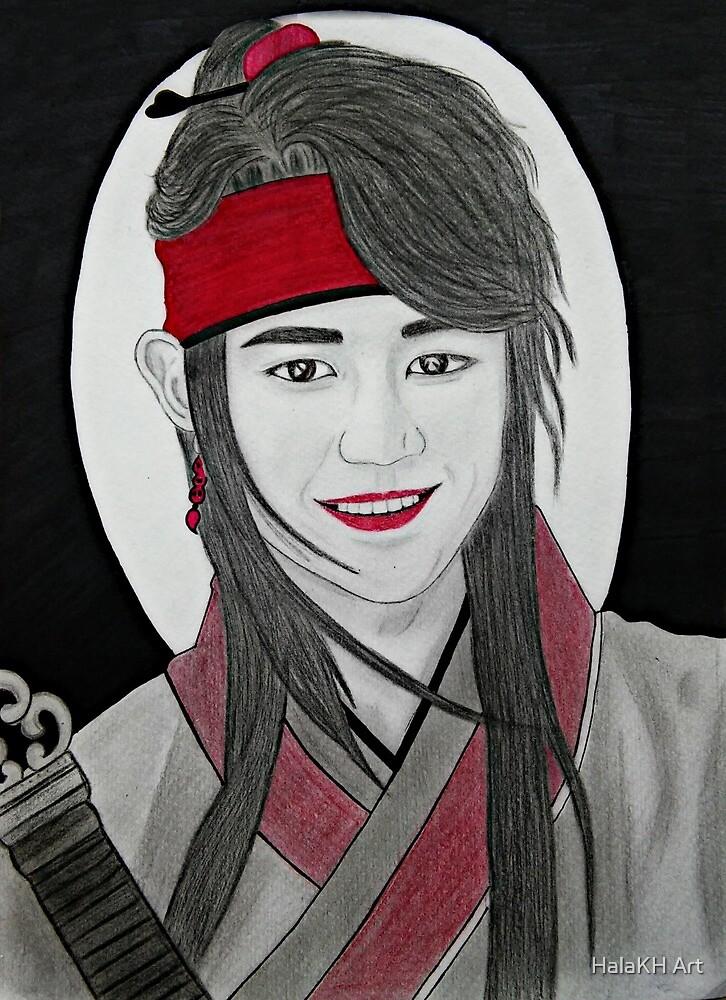 Choi Minho by HalaKH Art