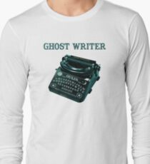 Unauthorized autobiography from beyond. Long Sleeve T-Shirt