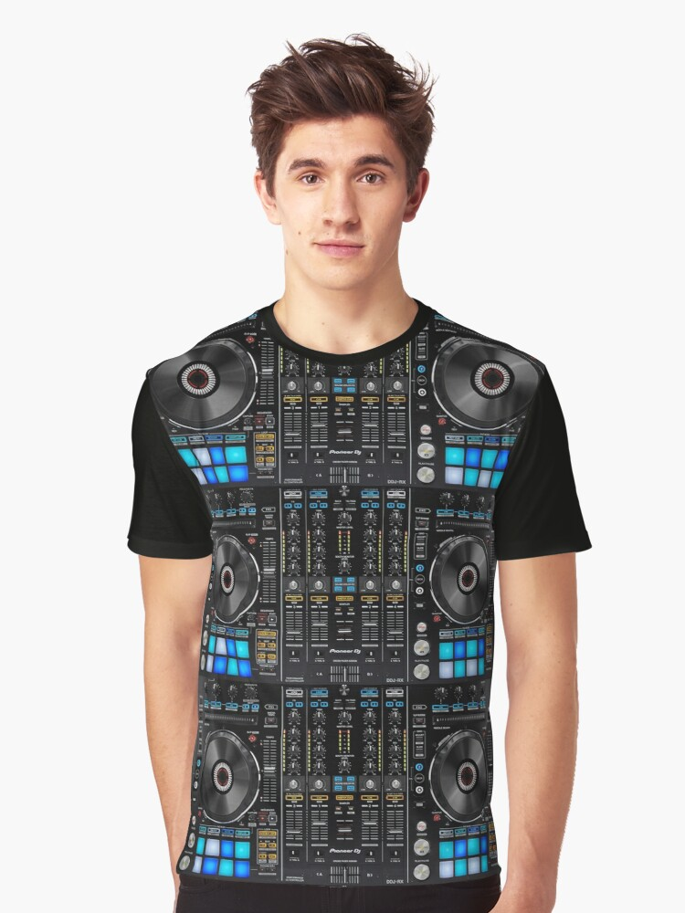 Pioneer DDJ-RX Graphic T-Shirt Front