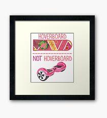 HOVERBOARD - 0189 Framed Print