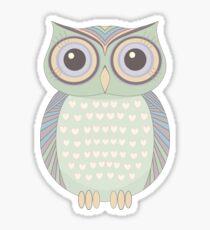 One Cool Owl Sticker