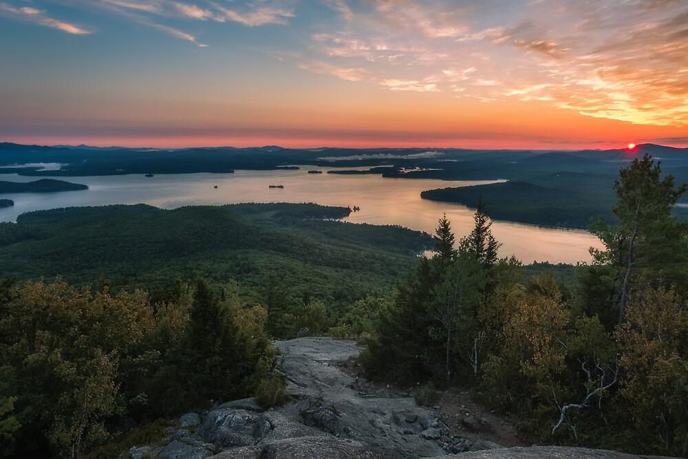 Lake Winnipesaukee, New Hampshire. by mattmacpherson