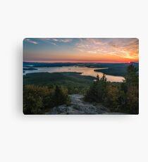 Lake Winnipesaukee, New Hampshire. Canvas Print