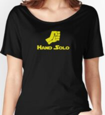 Hand Solo - 0182 Women's Relaxed Fit T-Shirt