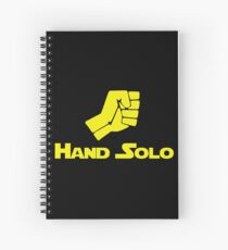 Hand Solo - 0182 Spiral Notebook
