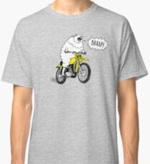 BRAAP Motocross Funny Dirtbike Comic Motorcycle T-Shirt Classic T-Shirt