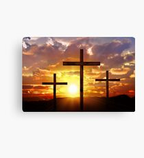 Jesus God Christianity Religion Crucifiction Canvas Print