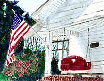 Summer Patriotism by Blended
