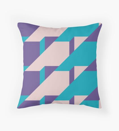 Abstract Glow #redbubble #glow #pattern Throw Pillow