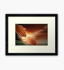 Jesus God Christianity Religion Framed Print