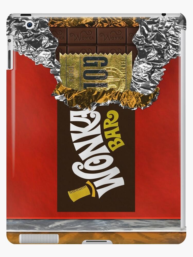 Wonka Chocolate Bar With Golden Ticket Ipad Caseskin By Galih Sanjaya Kusuma Wiwaha