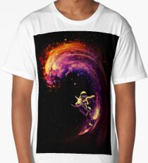 Space Surfing Long T-Shirt