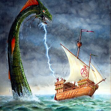 Sea Serpent by Englandken