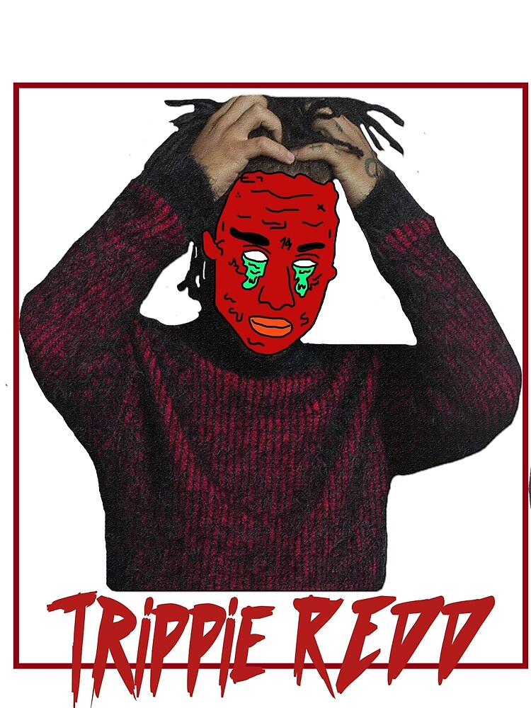 TRIPPIE RED−T−SHIRT NEW  by frank663