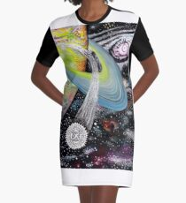 Aquari Graphic T-Shirt Dress