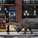 Real Rhinos Wear Pink by ThePigshark