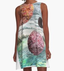 Three Worlds A-Line Dress